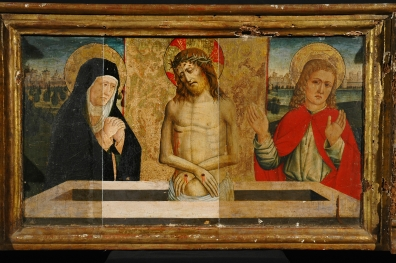 The great polyptych by Giovanni Canavesio.