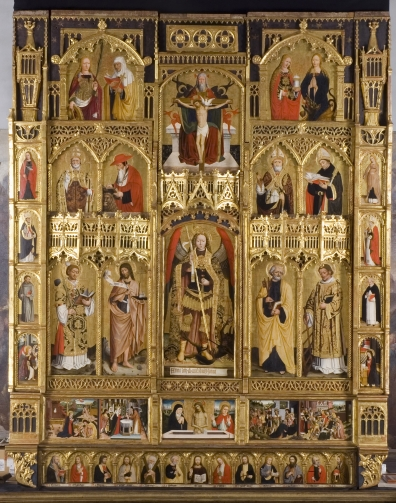 The great polyptych by Giovanni Canavesio